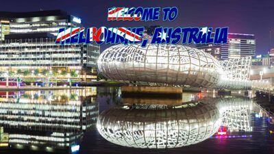 Melbourne Australia virtual tour international scavenger hunt using Google Maps