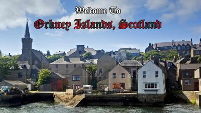 Orkney Islands Scotland virtual tour international scavenger hunt using Google Maps
